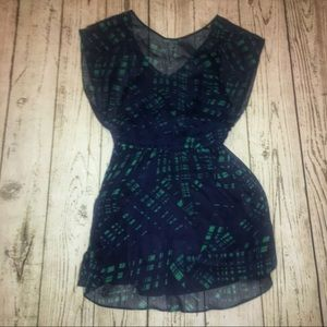 {Express} Shear Dress with Lining M